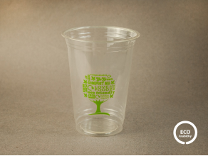 PLA kelímek GREEN TREE 410-450 ml (16 oz) Ø 9,6 cm